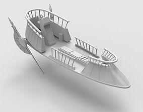 Jabba The Hut Sand Skiff Ship games 3D print model