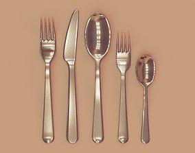 ikea cutlery set 3D model