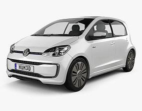 3D model Volkswagen e-Up 5-door 2016