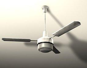 Ceiling fan 3D asset