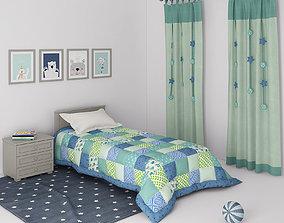Decorative set for Children s Bedroom 3D