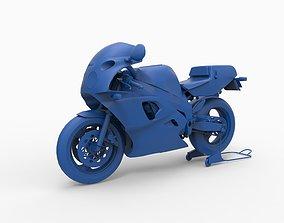 Motorcycle mod26 3D printable model