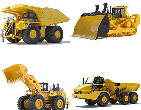 3D Collection Mining Machines 1