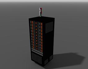 computer 3D model VR / AR ready server