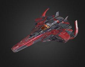 Spaceship Fighter 3D model