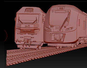3D model of the train