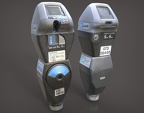 3D San Francisco Parking Meter