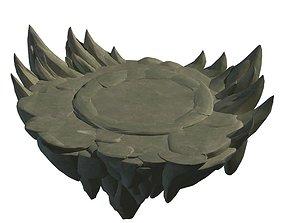3D model Terrain - round pk table 46