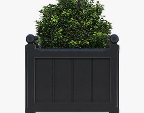 48cm Windsor Medium Planter 3D