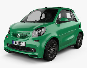 3D Smart ForTwo Brabus Electric Drive cabriolet 2017