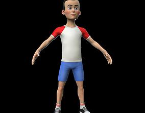 3D model Stylized Boy Character