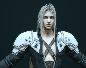 Sephiroth - Final Fantasy 7 Remake 3D model