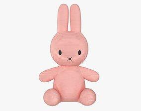 Rabbit soft toy 02 3D