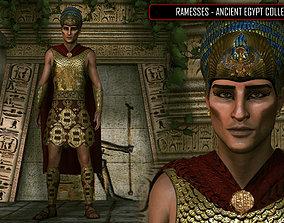 Ancient Egypt Pharaoh 3D model