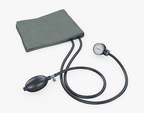 3D asset Blood Pressure Cuff