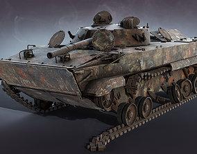 3D model BMP-3 Burnt