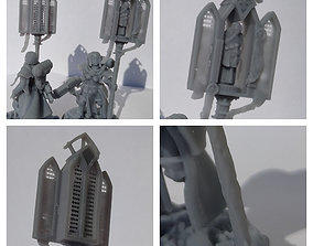3D print model Procession Pole for Sisters of Battle