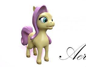 cartoon pony aeris 3D model