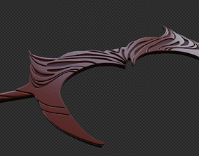 WandaVision Scarlett witch headband for 3D printable model