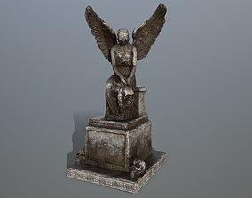 3D asset statue 3