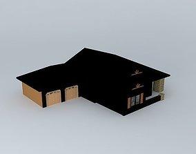 craftsman 3D model House