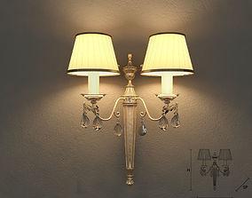 Masiero 6020 A2 wall lamp 3D