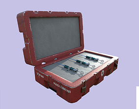 3D model Medical vaccine case