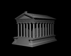 acropolis GARNI temple 3D printable model