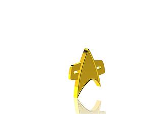 3D printable model Star Trek Badge