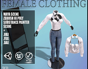 3D model Female Clothing