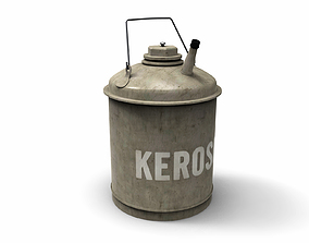 Kerosene Can 3D