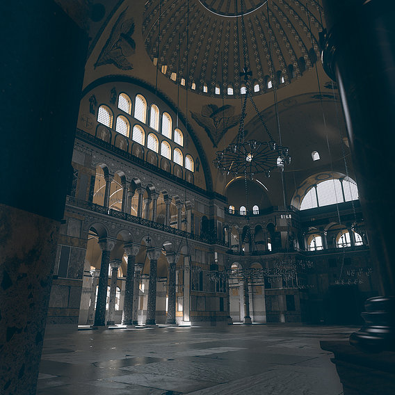 HAGIA SOPHIA BYZANTINE VERSION