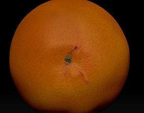 3D asset orange