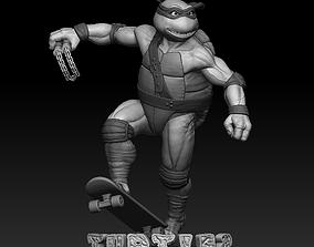 3D print model Teenage mutant ninja turtles Michelangelo