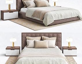 Mitchell Gold bedroom 3D asset