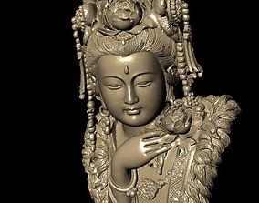 The Bodhisattva 3D print model stone