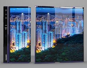 3D model Huawei Mate X
