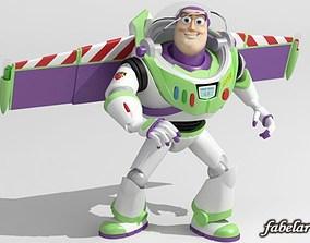 Buzz Lightyear Rigged 3D model
