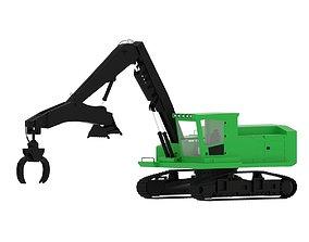 Forestry Swing Machine 3D model