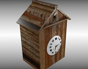 3D asset Antique Cuckoo Clock