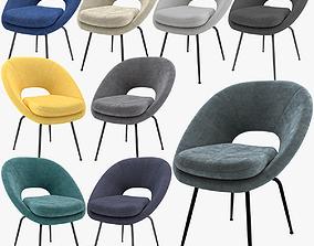 West Elm Orb Dining Chair 3D model