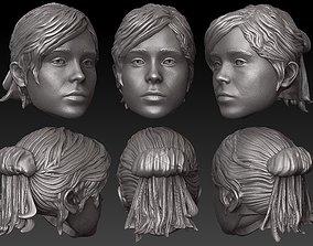 3D printable model ONE6 SCALE HEAD - ELLEN PAGE - KITTY 3