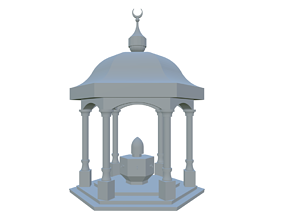 Fountain Print Ready Model