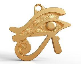Egyptian Eye of Horus Necklace 3D print model