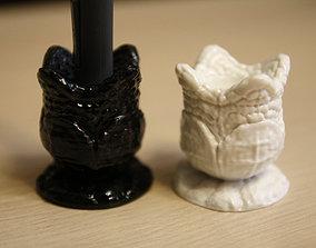 Wacom stylus holder Egg of Alien 3D printable model