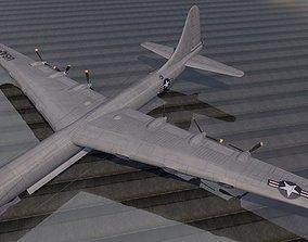 3D Convair XB-36 Peacemaker