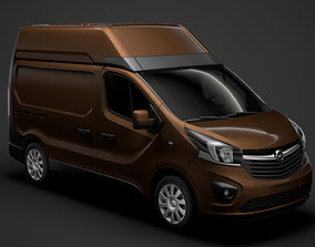 Opel Vivaro Van L1H2 2018 3D