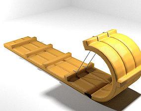 Sled - type 1 3D model