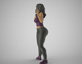 3D print model Biased Woman