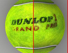 Tennis ball Dunlop 3D model